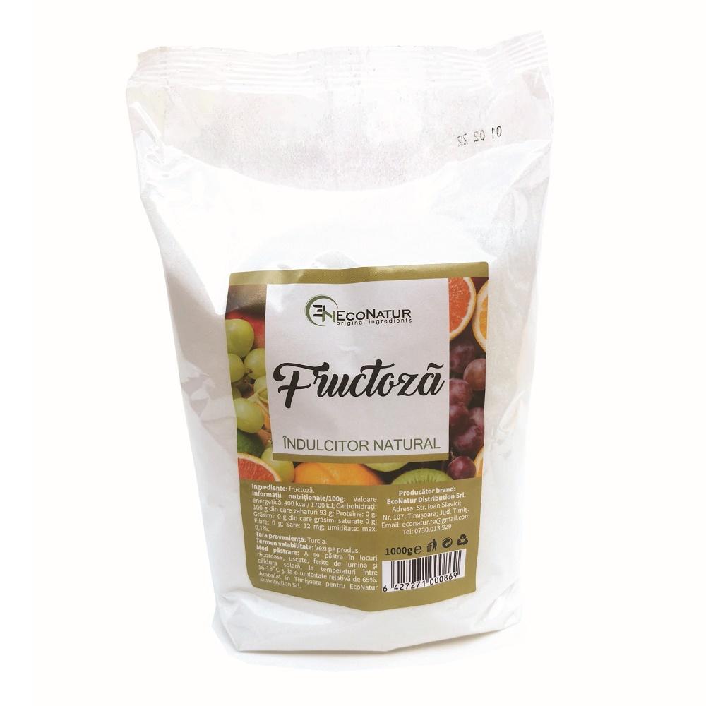 Fructoză, 1000g, EcoNatur