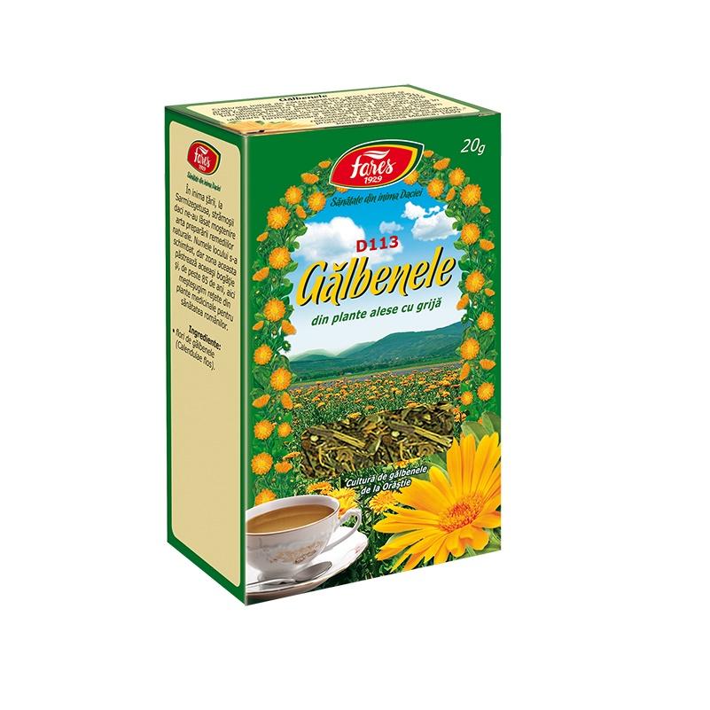 ceai de galbenele slabire)