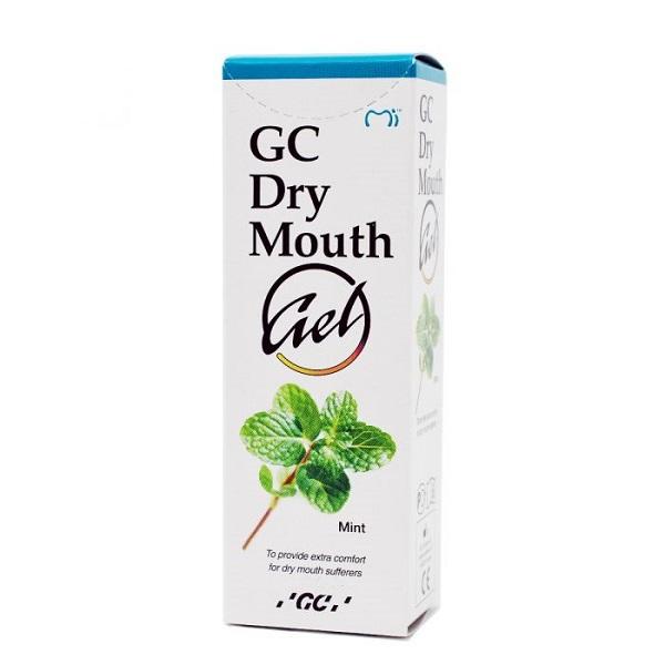 Gel cu aroma de menta pentru gura uscata, 35 ml, GC