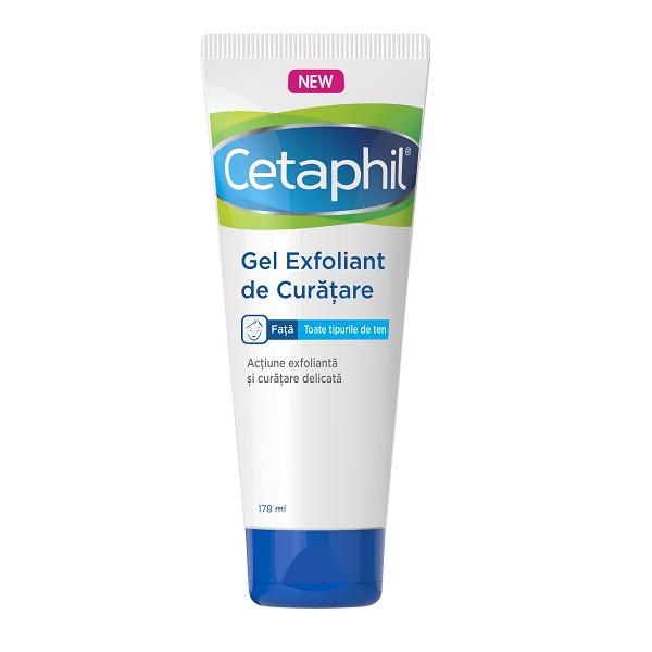 Gel de curatare exfoliant Cetaphil, 178 ml, Galderma