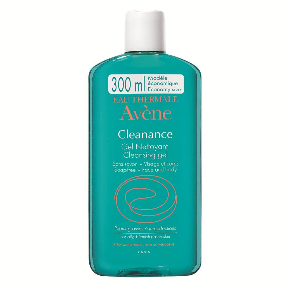Gel de curatare pentru ten gras cu tendinta acneica Cleanance, 300 ml, Avene
