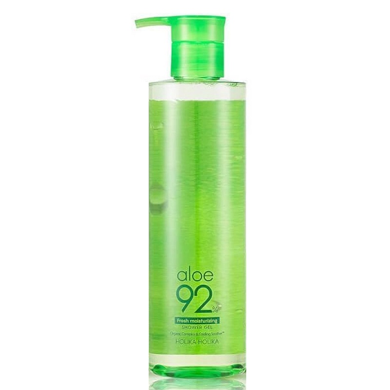 Gel de dus cu extract de aloe 92%, 390 ml, Holika Holika
