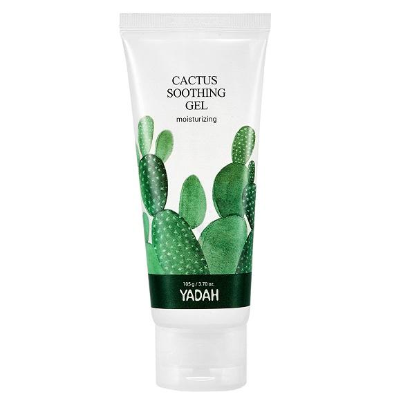 Gel de fata calmant Cactus, 105 ml, Yadah