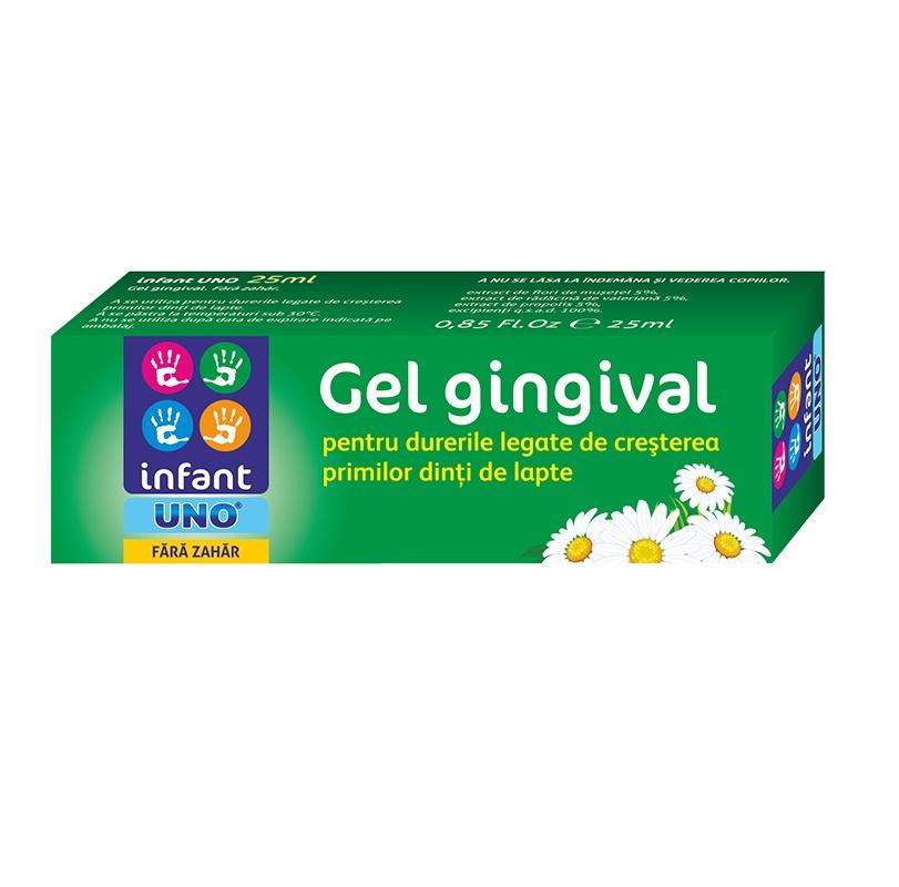 Gel gingival Infant Uno, 25 ml, Solacium Pharma
