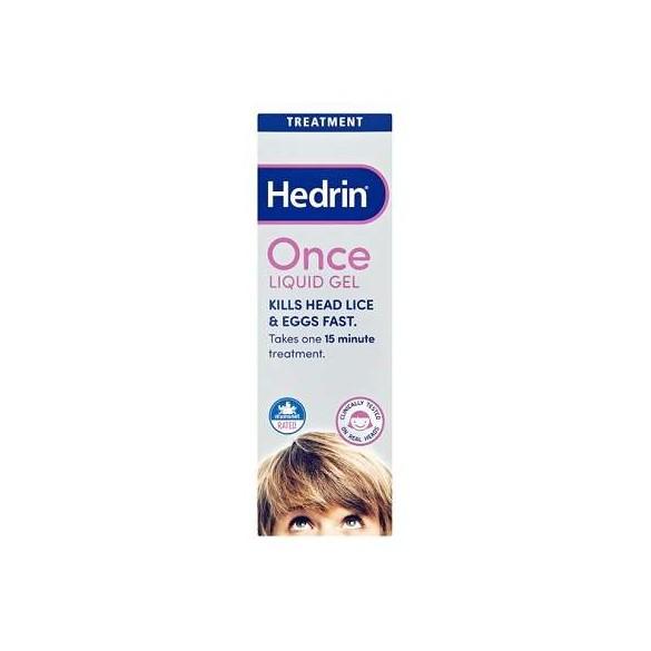 Gel lichid anti paduchi Hedrin Once, 100 ml, Thornton