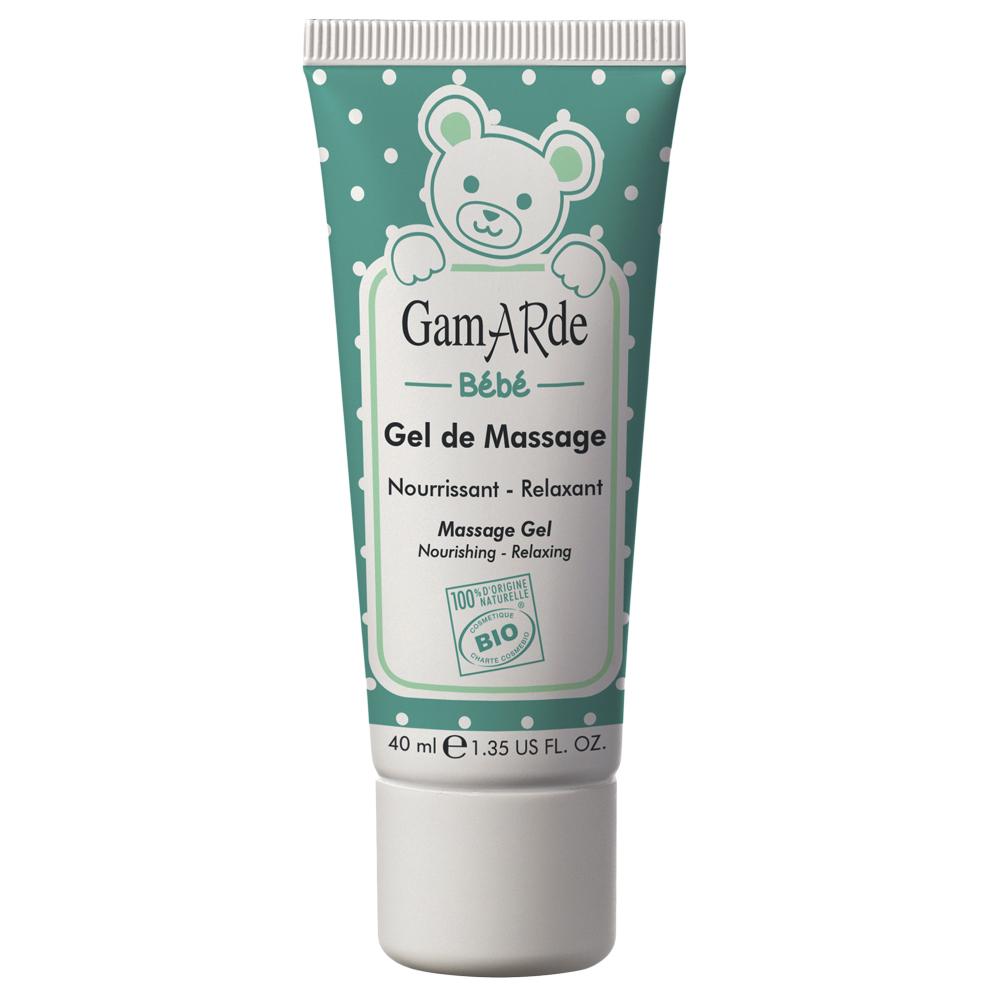 Gel Bio de masaj pentru bebeluși, 40 ml, Gamarde