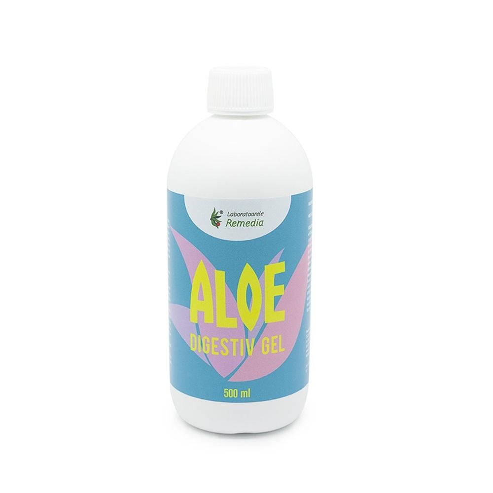 Gel natural de Aloe Vera Digestiv, 500ml, Remedia