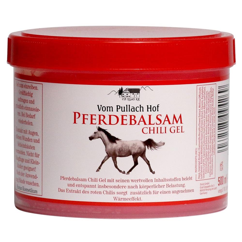 Gel puterea calului cu ardei iute Pferdebalsam, 500 ml, Stolz
