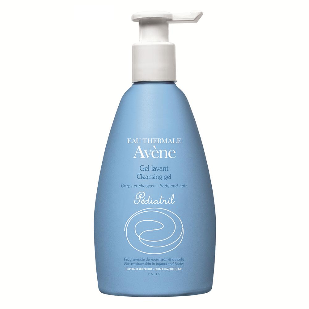 Gel spumant de curatare pentru par si corp Pediatril, 500 ml, Avene