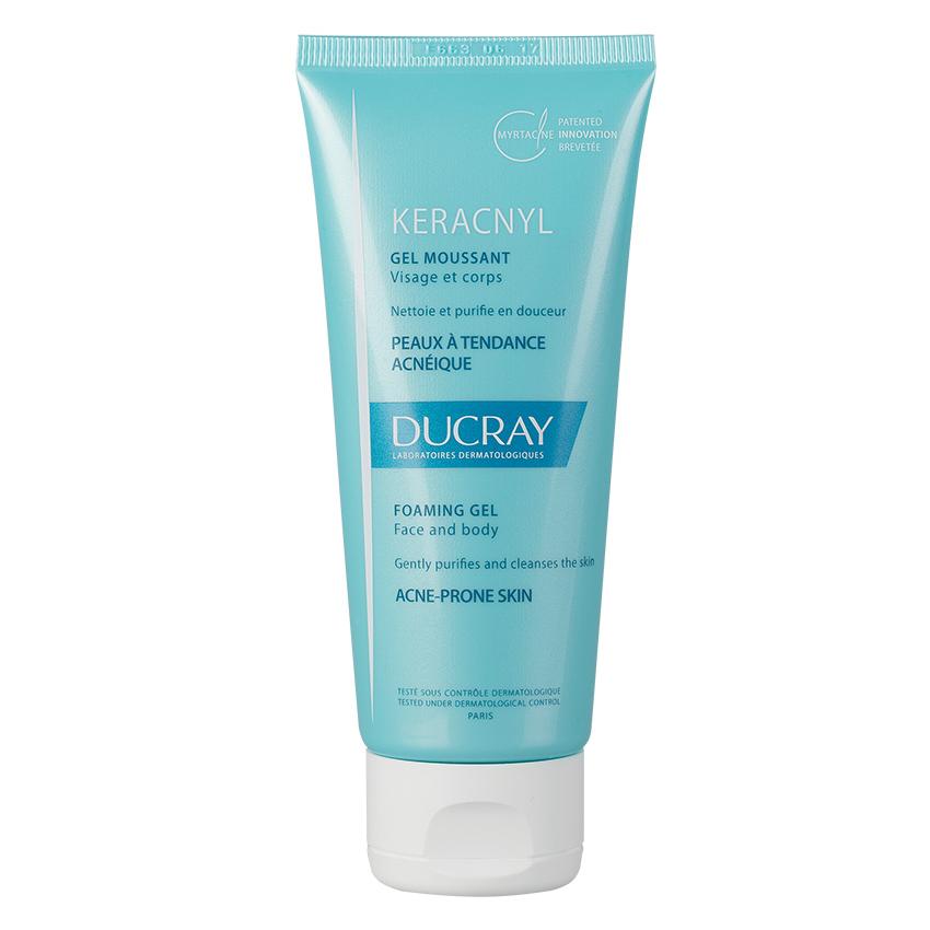 Gel spumant pentru pielea cu tendinta acneica Keracnyl, 100 ml, Ducray