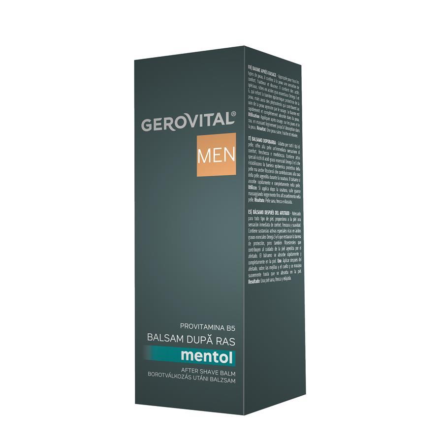Balsam dupa ras Gerovital Men, 100 ml, Farmec