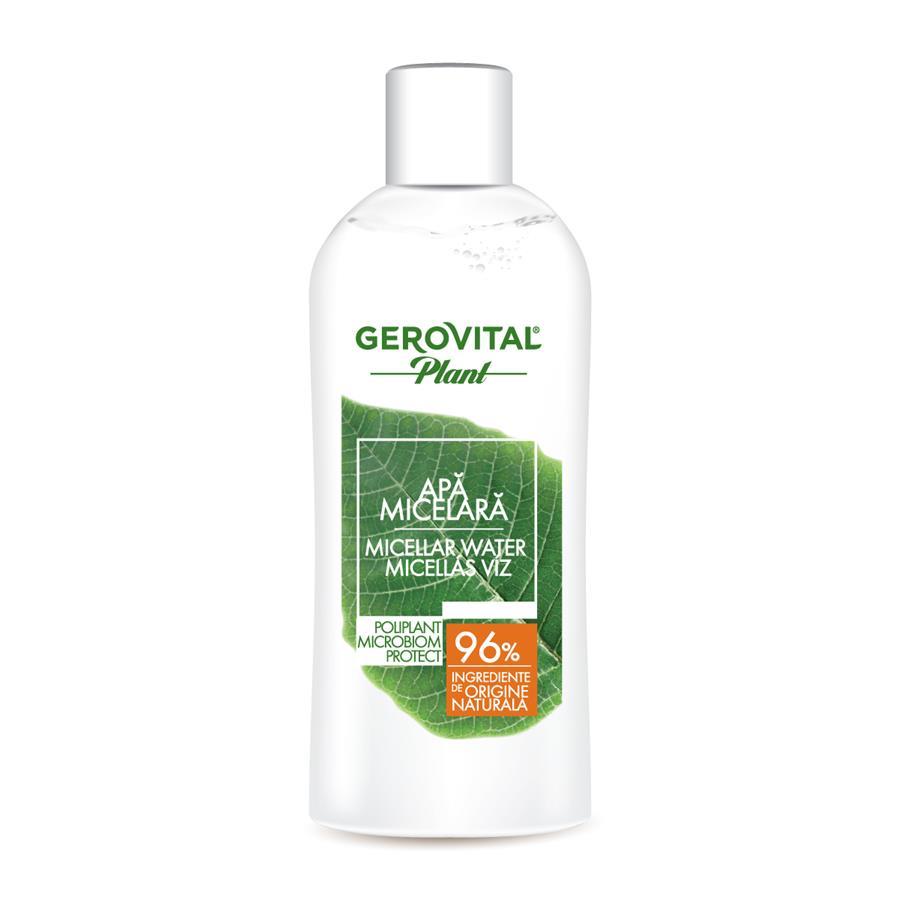 Apă micelară Poliplant Microbiom Protect Gerovital Plant, 150 ml, Farmec