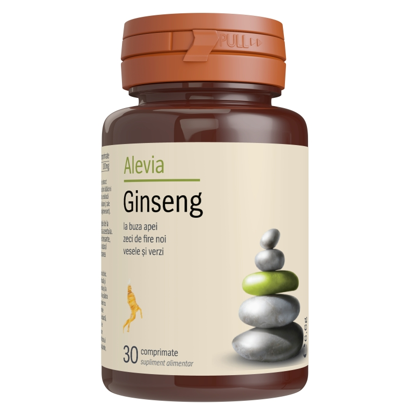 Ginseng, 30 capsule, Alevia
