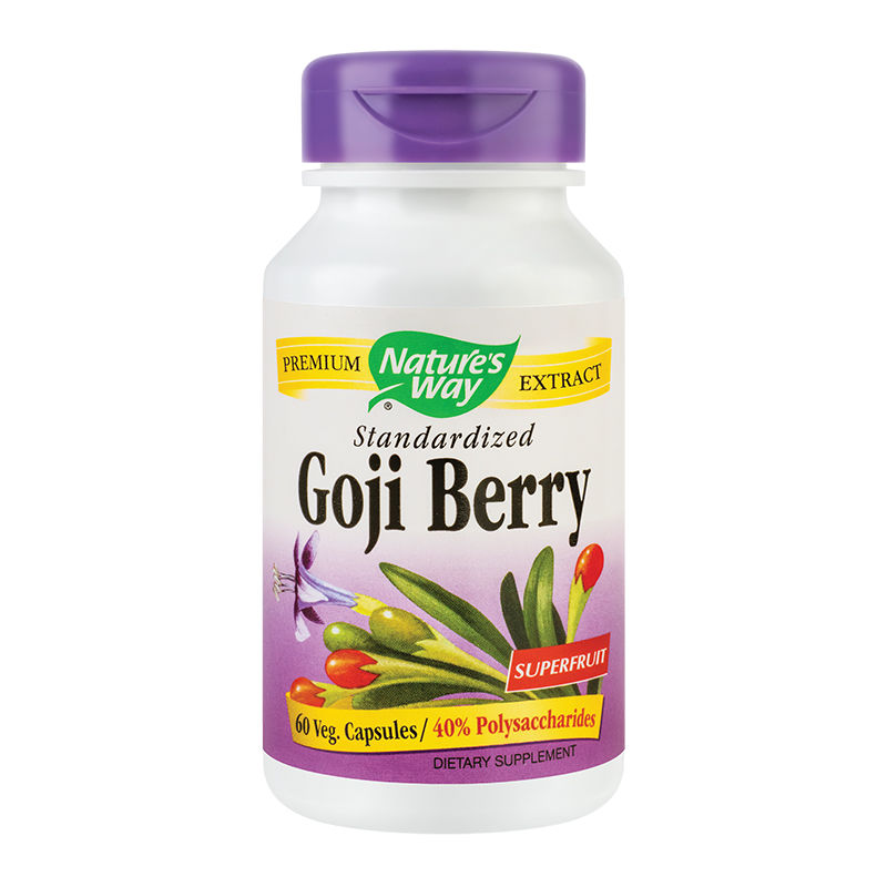 Goji Berry Nature's Way, 60 capsule, Secom
