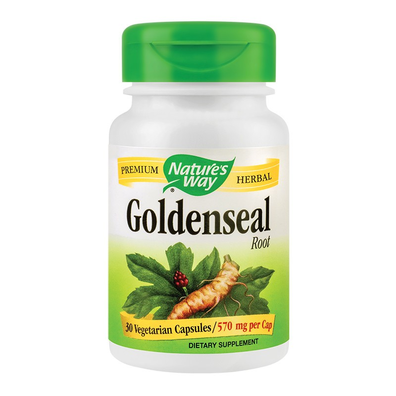 Goldenseal Root 570 mg Nature's Way, 30 capsule, Secom