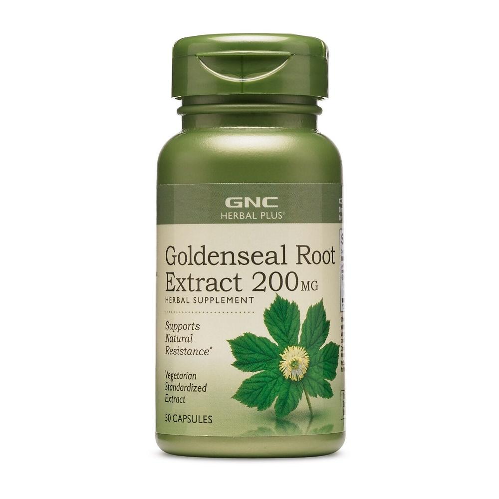Goldenseal Herbal Plus (193312), 200 mg, 50 Capsule, GNC