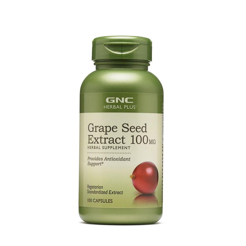Grape Seed Extract  Herbal Plus 100 mg (198022), 100 capsule, GNC