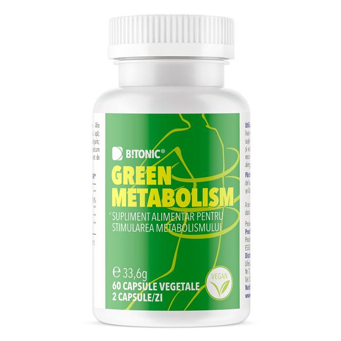 Green Metabolism Bitonic, 60 capsule, Lifecare