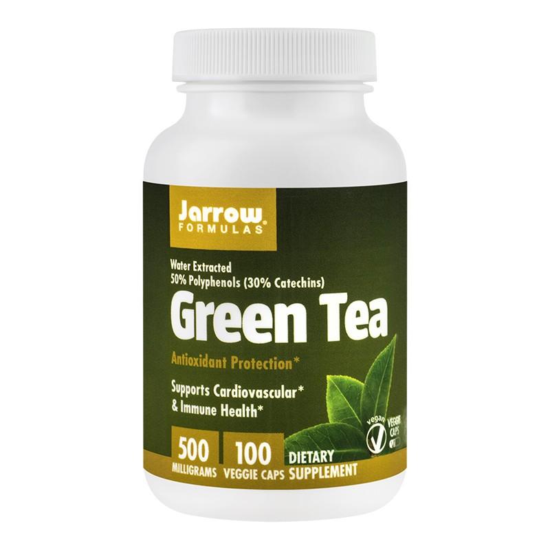Green Tea 500 mg Jarrow Formulas, 100 capsule, Secom