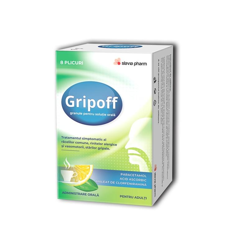 Gripoff, 8 plicuri, Slavia Pharm