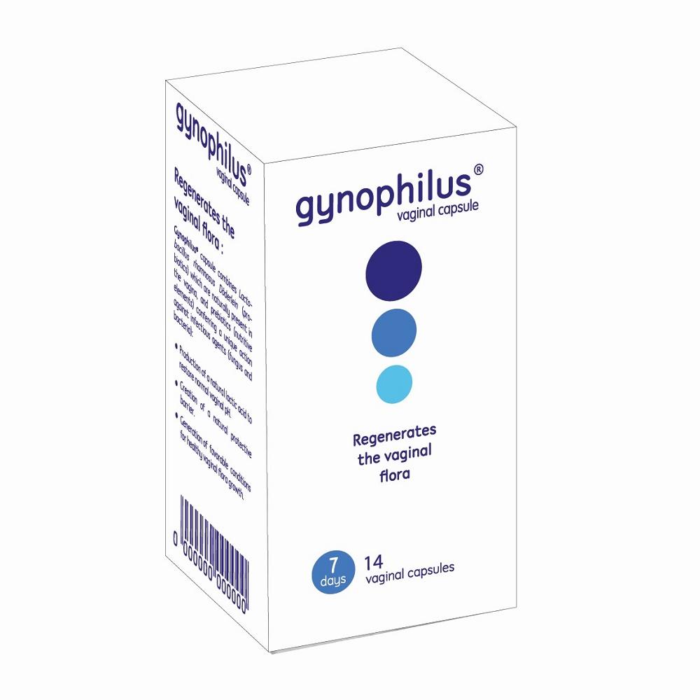GynOphilus, 14 capsule vaginale, Biose