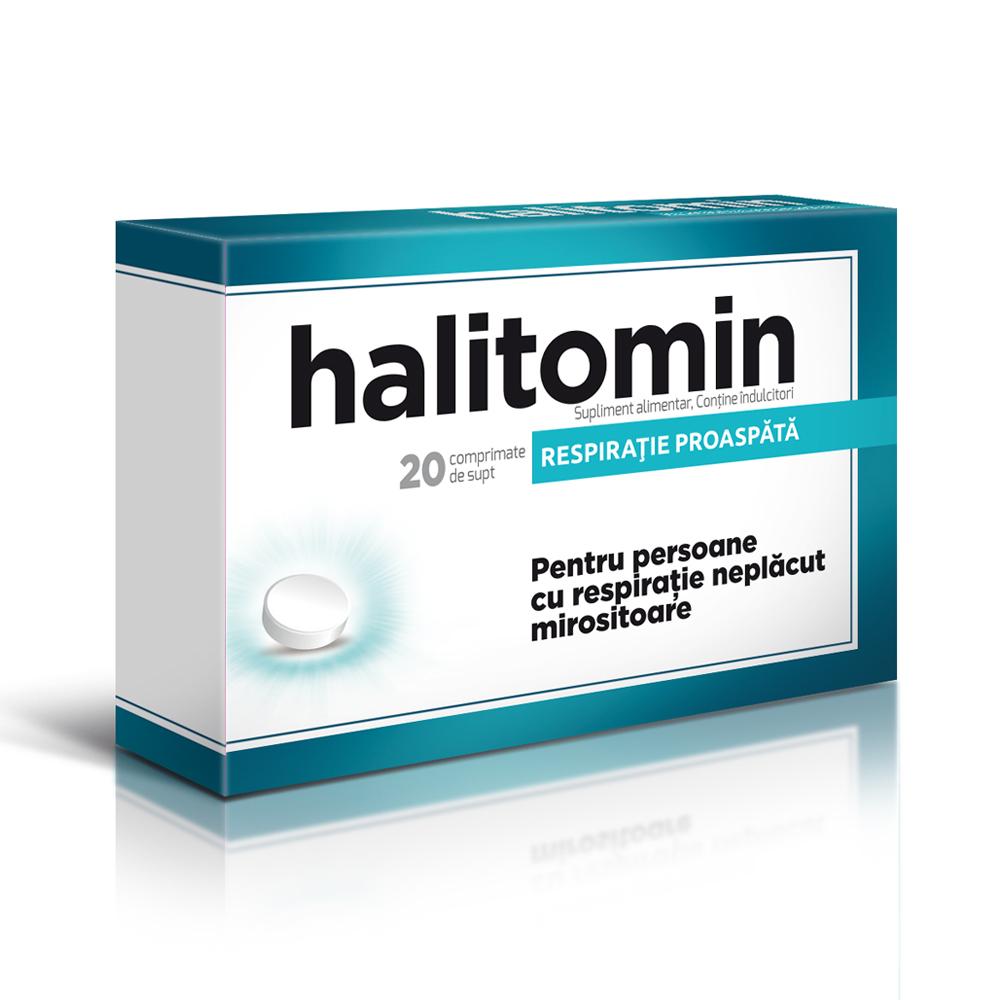 Halitomin, 20 comprimate, Aflofarm
