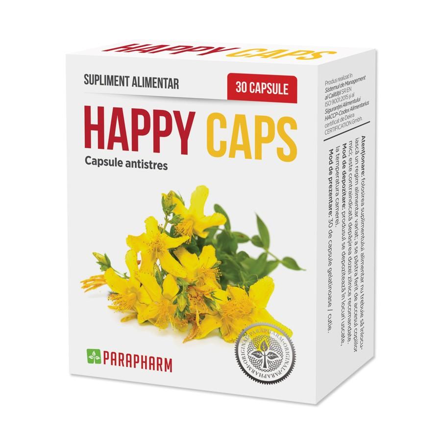 Happy Caps, 30 capsule, Parapharm