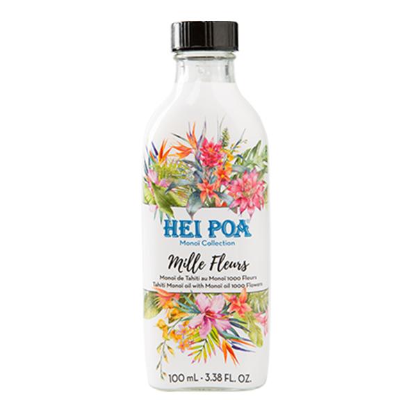 Ulei de Monoi AO 1000 Flori, 100 ml, Hei Poa Tahiti