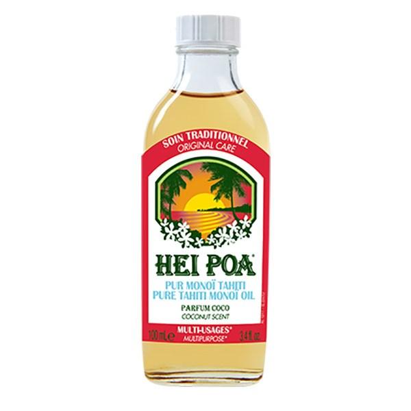 Ulei de Monoi AO cu parfum de Cocos, 100 ml, Hei Poa Tahiti