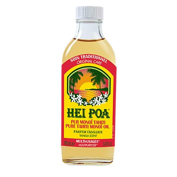 Ulei de Monoi AO cu parfum de Vanilie, 100 ml, Hei Poa Tahiti