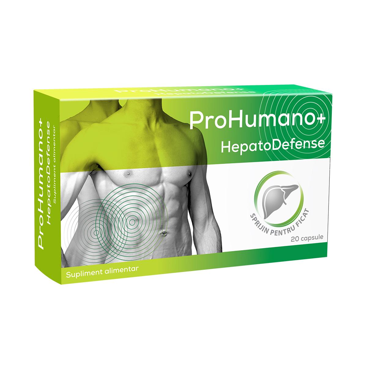 HepatoDefense ProHumano+, 20 capsule, Pharmalinea
