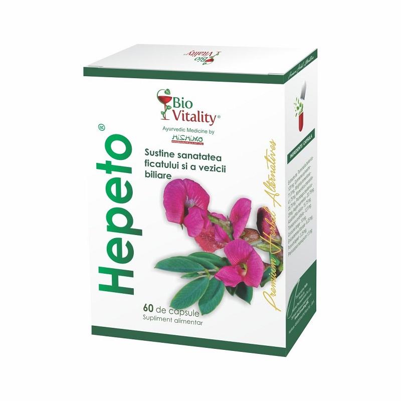 Hepeto, 60 capsule, Bio Vitality