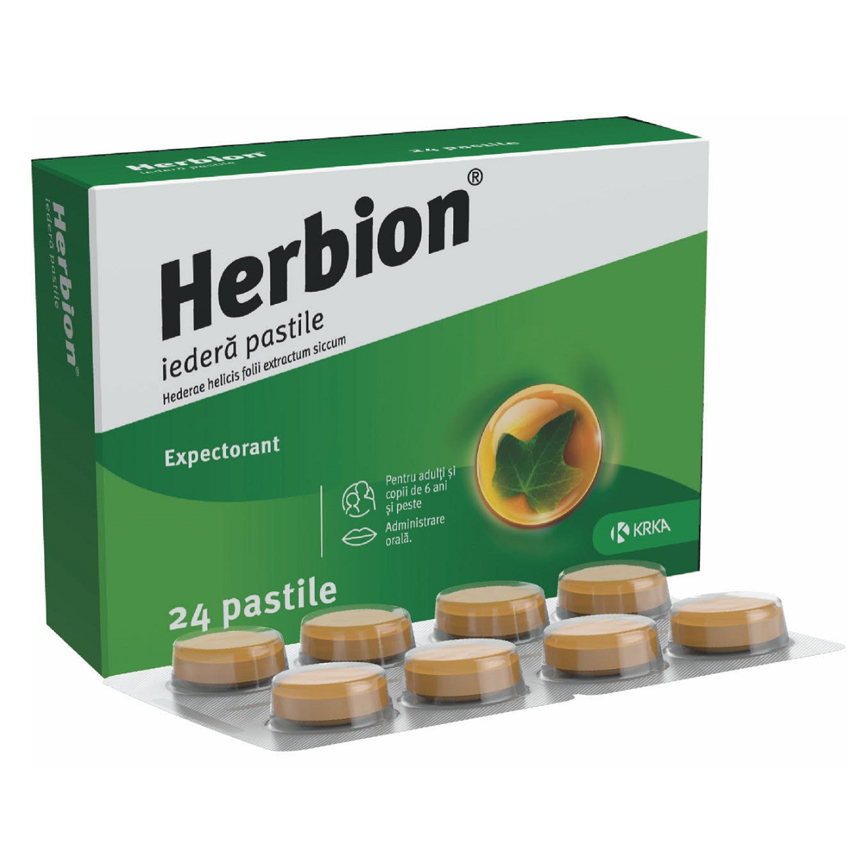 Herbion, 24 pastile, KRKA