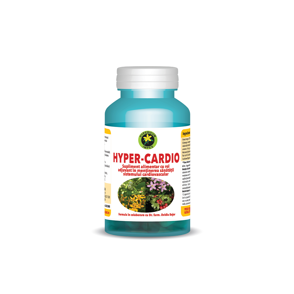Hyper-Cardio, 60 capsule, Hypericum