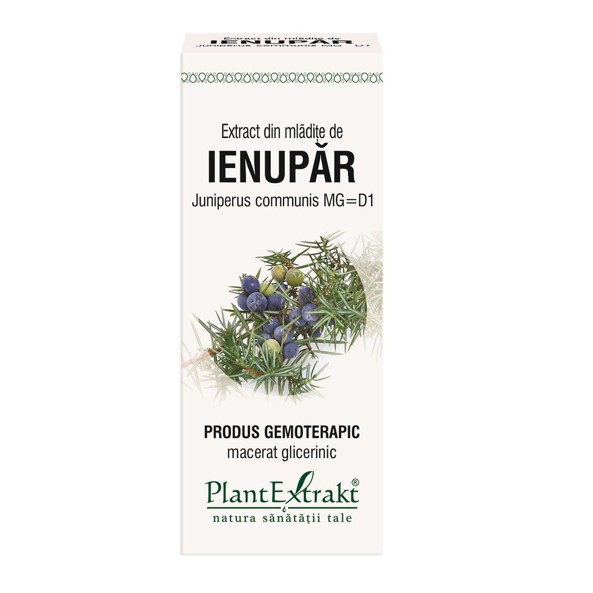 Extract din mlădițe de Ienupăr, 50 ml, Plant Extrakt