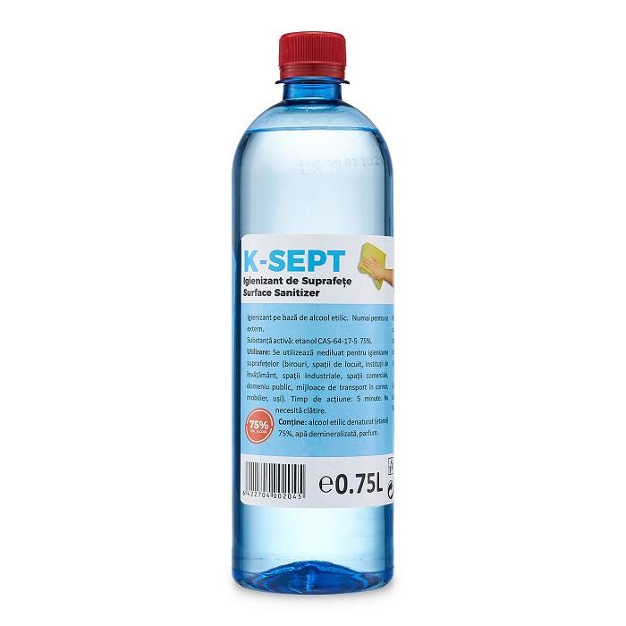 Igienizant pentru suprafete KSept, 750 ml, Farmona