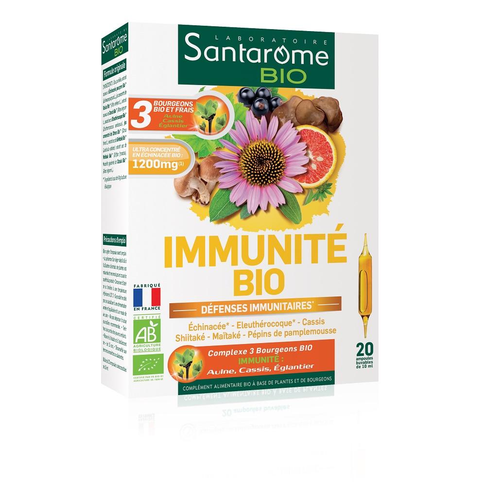 Immunite Bio, 20 fiole, Santarome Natural