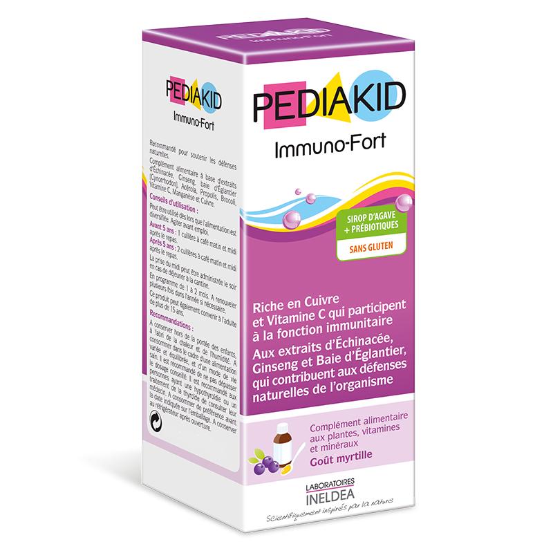 Pediakid Immuno-Fort sirop, 250 ml, Laboratoires Ineldea