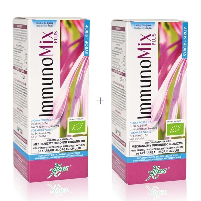 Immunomix Plus sirop pentru copii, 210 g, 1+1 50% reducere la al doilea produs, Aboca