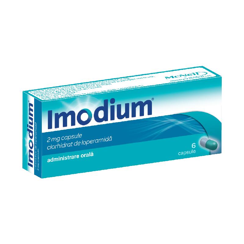 Imodium 2mg, 6 capsule, Johnson&Johnson