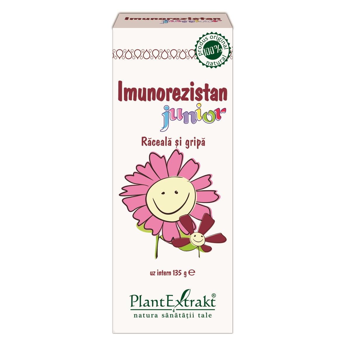 Imunorezistan Junior, 100 ml, Plant Extrakt