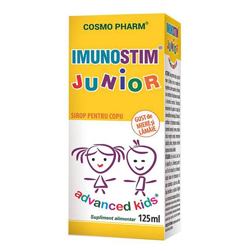 Imunostim Junior Advanced Kids Sirop, 125 ml, Cosmopharm