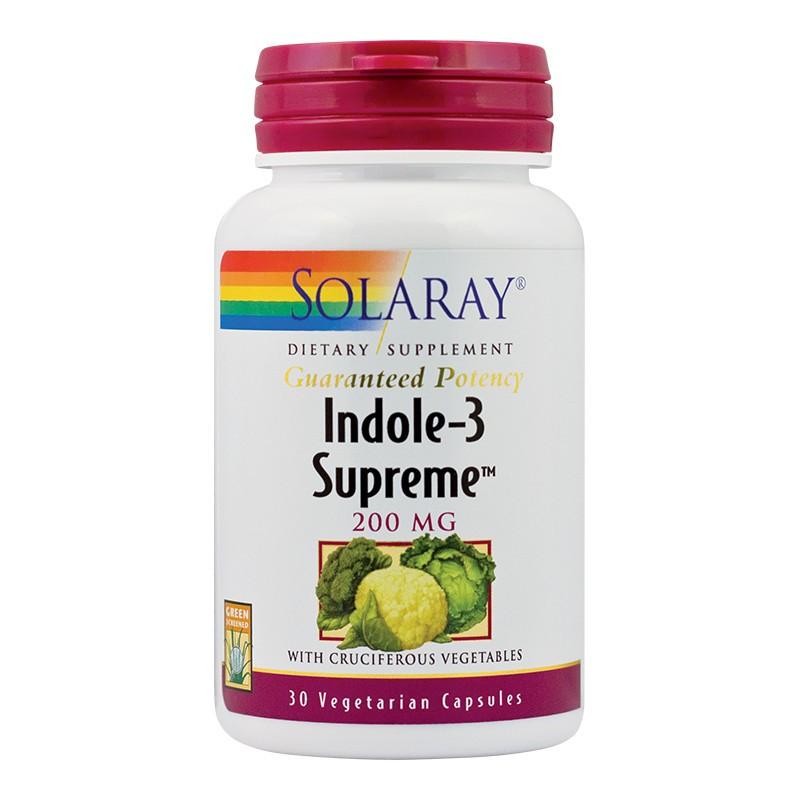 Indole Suprem Solaray, 30 capsule, Secom