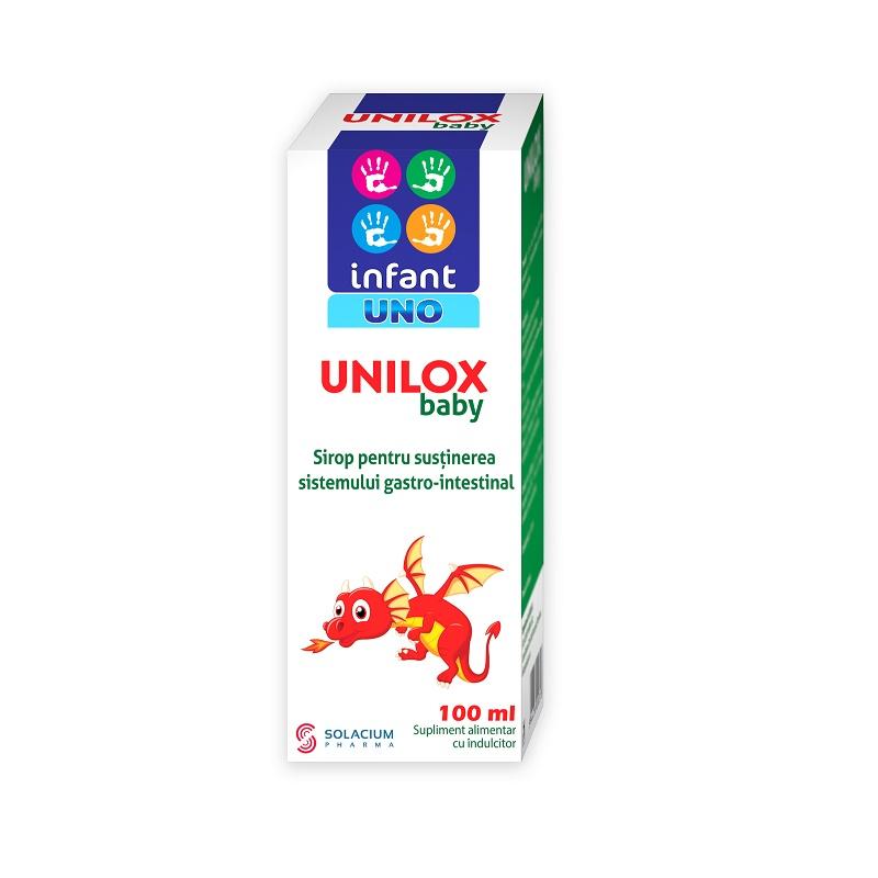 Sirop Unilox baby Infant Uno, 100 ml, Solacium Pharma