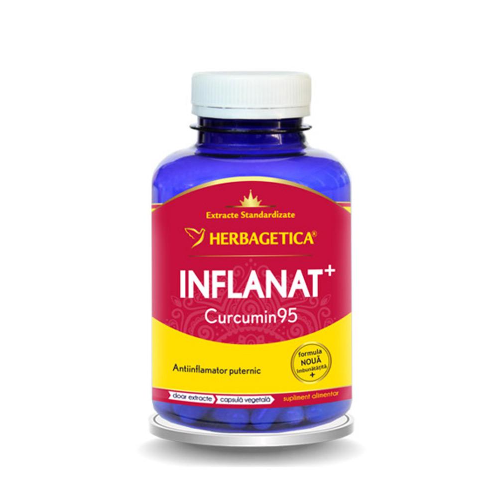 Inflanat Curcumin95, 120 capsule, Herbagetica