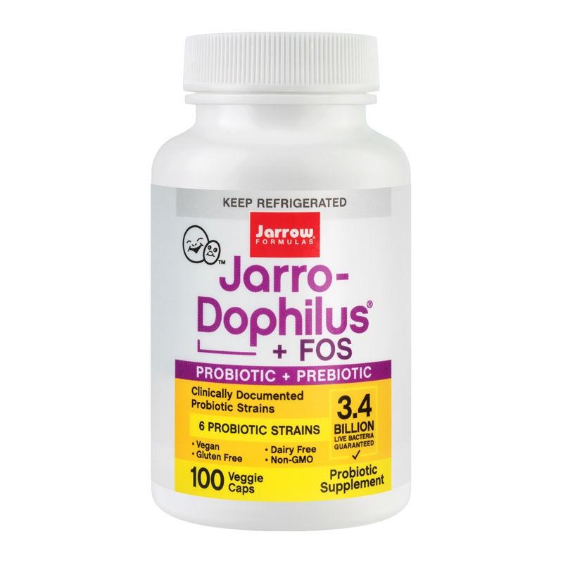 Jarro Dophilus Fos Jarrow Formulas, 100 capsule, Secom