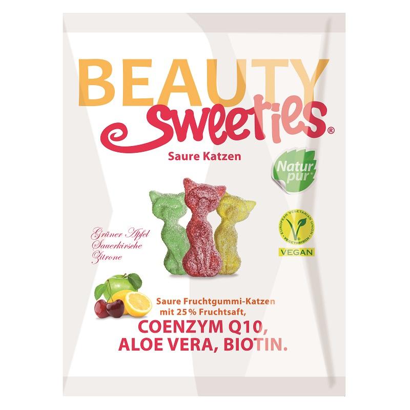 Jeleuri gumate acrisoare Pisicute, 125 g, Beauty Sweeties