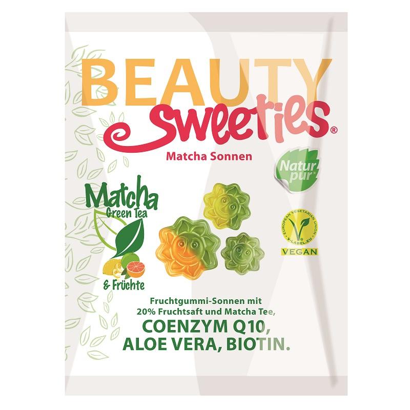 Jeleuri gumate moi Matcha Tea, 125 g, Beauty Sweeties