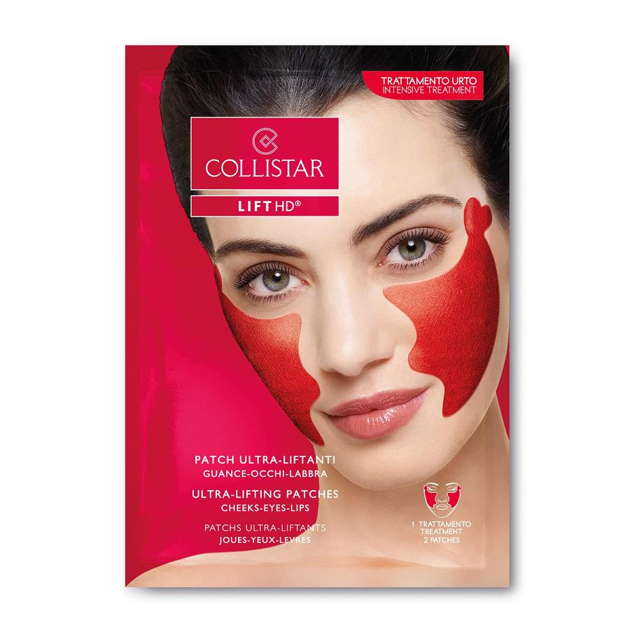 Plasturi tratament pentru zona ochilor, pomeților și buzelor K24703, 2 bucăți, Collistar