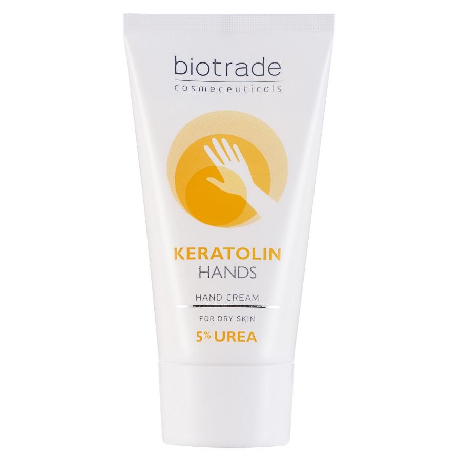 Cremă pentru mâini cu 5% uree Keratolin Hands, 50 ml, Biotrade